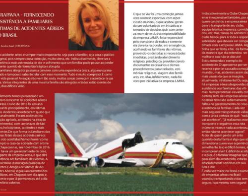 Fornecendo assistência a familiares de vítimas de acidentes aéreos (Aviação e Mercado)