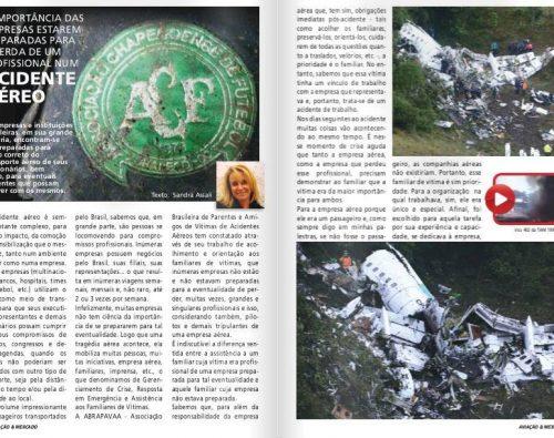 A importância das empresas estarem preparadas para a perda de um profissional num acidente aéreo (Aviação e Mercado)